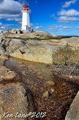 Peggy's Point Lighthouse Halifax Regional Municipality, NS, Canada
