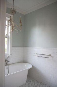halvkaklat badrum - Sök på Google