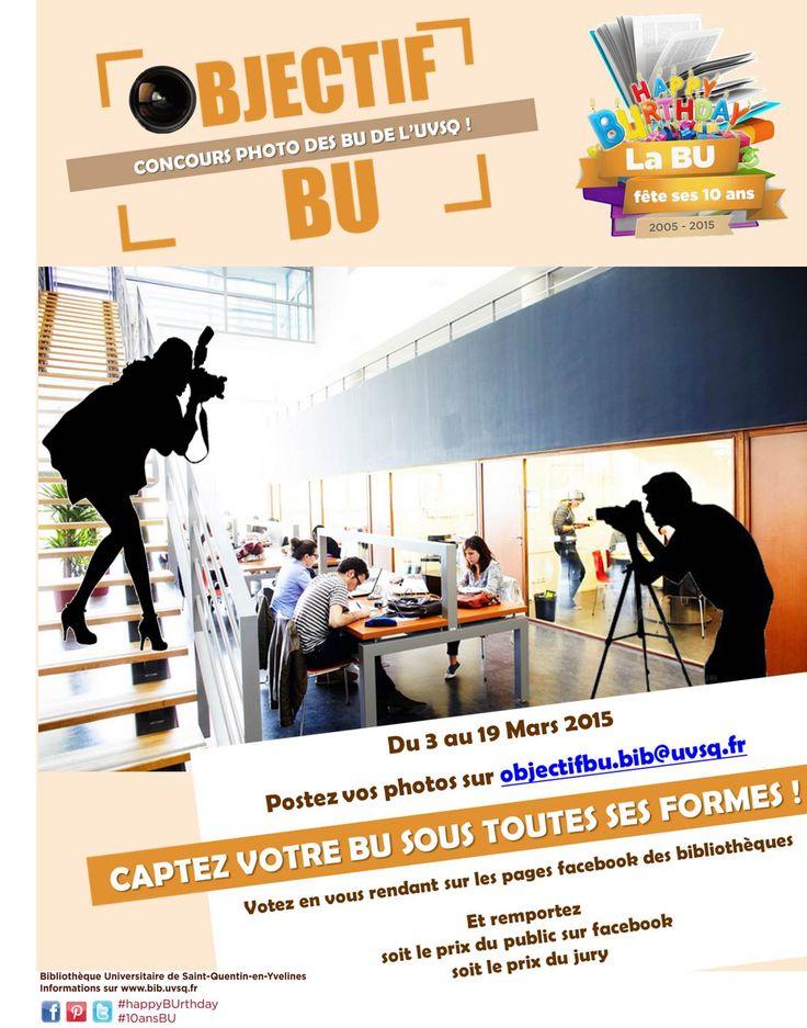 Le concours-photo Objectif BU