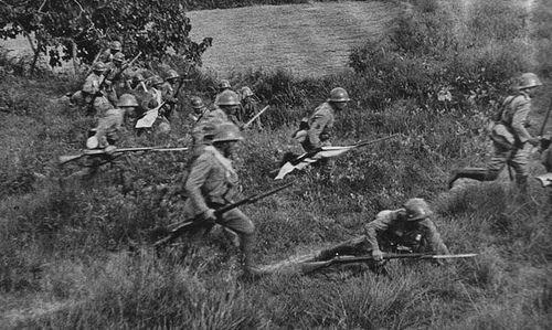 japanese marines  banzai charge!