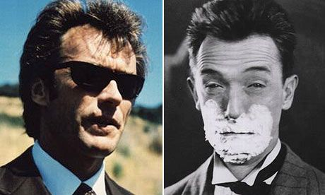 At last, it's official: Clint Eastwood is not Stan Laurel's son. Well, at least, he says he isn't.    Perhaps one of the more unlikely urban myths (but Google the protagonists' names and you'll see how widespread it is), the Dirty Harry star has long had his parentage disputed by people who saw two film stars with tufty hair and came to the inevitable conclusion.    In an interview reprinted in today's Sun newspaper, however, Eastwood has taken the opportunity to set the record straight…