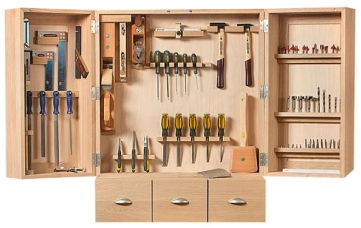 Selbst ist der Mann - Bauplan: Werkzeugschrank 02/2014