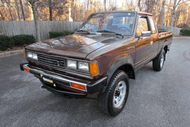 5 900 1981 Datsun 720 Dx King Cab 4 4 Datsun Datsun Pickup Nissan Pickup Truck