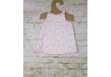 Reversible baby dress Petit Fleur ORGANIC COTTON & Bamboo