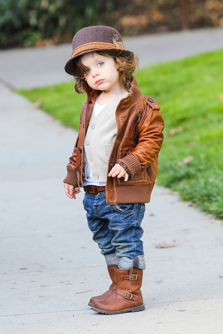 Rachel Zoe's baby is too cute!! His outfit!