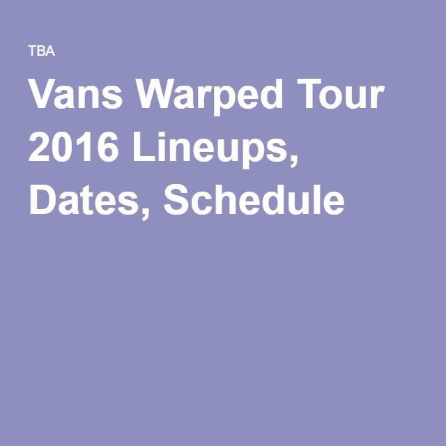 Bands Warped Tour 2015 | myideasbedroom.com