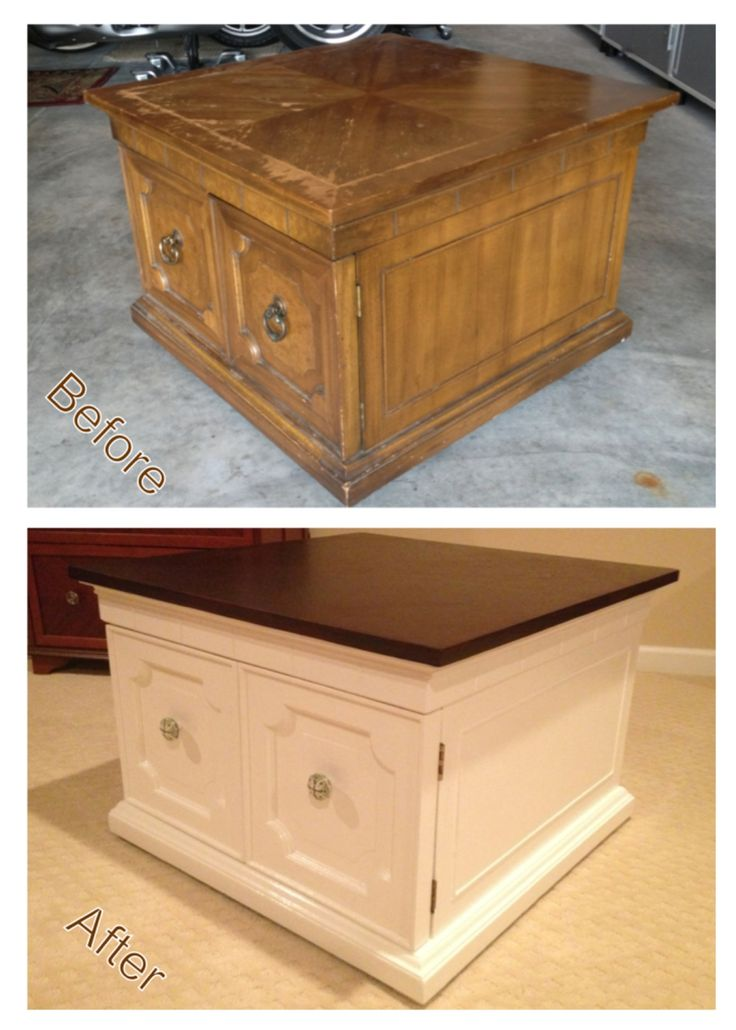 how to make furniture look old and worn