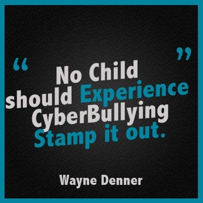 No Child Should Experience CyberBullying  - Stamp it Out
