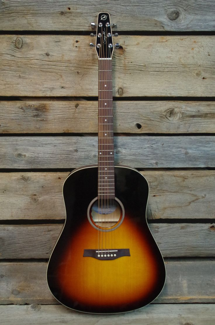 seagull s6 spruce sunbust gt acoustic electric guitar expensive af but love it my music. Black Bedroom Furniture Sets. Home Design Ideas