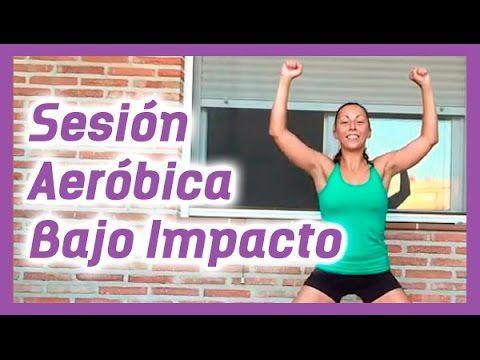 SESIÓN AERÓBICA DE BAJO IMPACTO - 40min -
