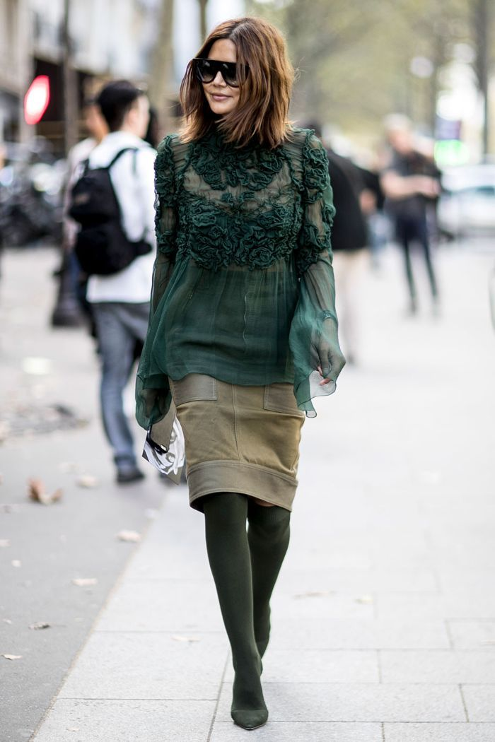 All the Best Street Style Shots From Paris Fashion Week via @WhoWhatWearAU