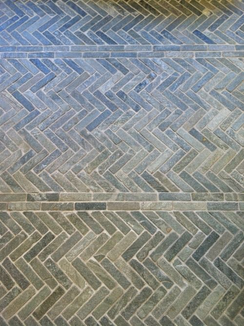 Herringbone Pavers at Charles Luck (Found today shopping with our Interior…