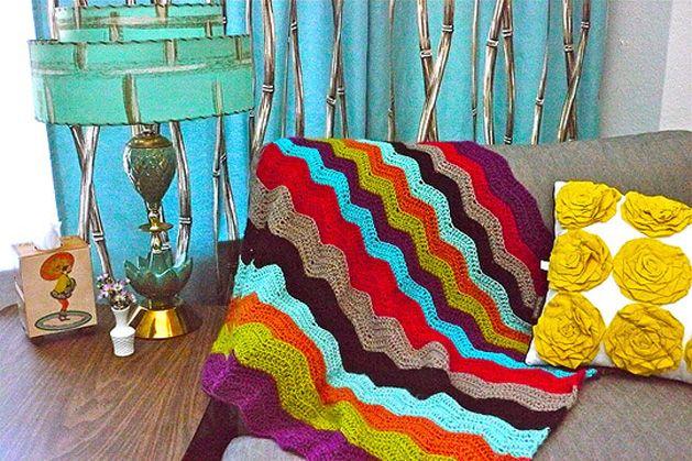 DIY Missoni Blanket: Crochet Ideas, Colors Combos, Missoni Blankets, Blankets Chevron, Blankets Patterns, Baby Blankets, Knits Blankets, Crochet Patterns, Chevron Crochet Blankets