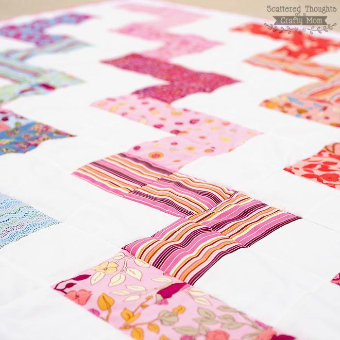 zigzag quilt pattern