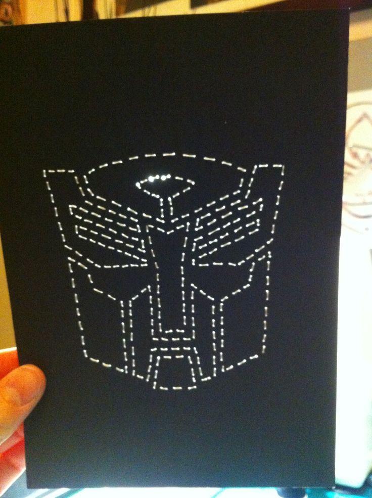 Autobots Stitched Art by JSA. #JaimiesStitchedArt