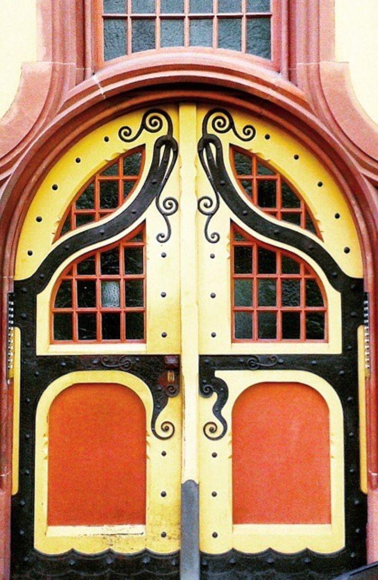 lovely door in Konstanz Baden-Württemberg Germany & 15555 best Door | Window | Gate images on Pinterest | Windows ... pezcame.com