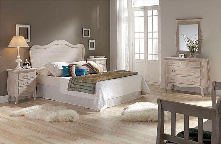 Muebles Portobellostreet.es: Dormitorio Cuore - Ambientes de Dormitorio Vintage - Muebles de Estilo Vintage