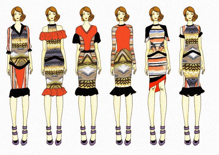 Fashion Collection plan inspired by County Fair @anataAayaa