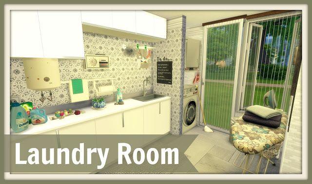 Sims 4 - Laundry Room