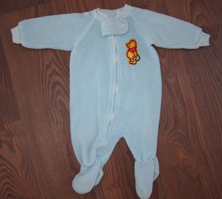 Details About Vintage 80s Infant Baby Winnie The Pooh 1 Pc
