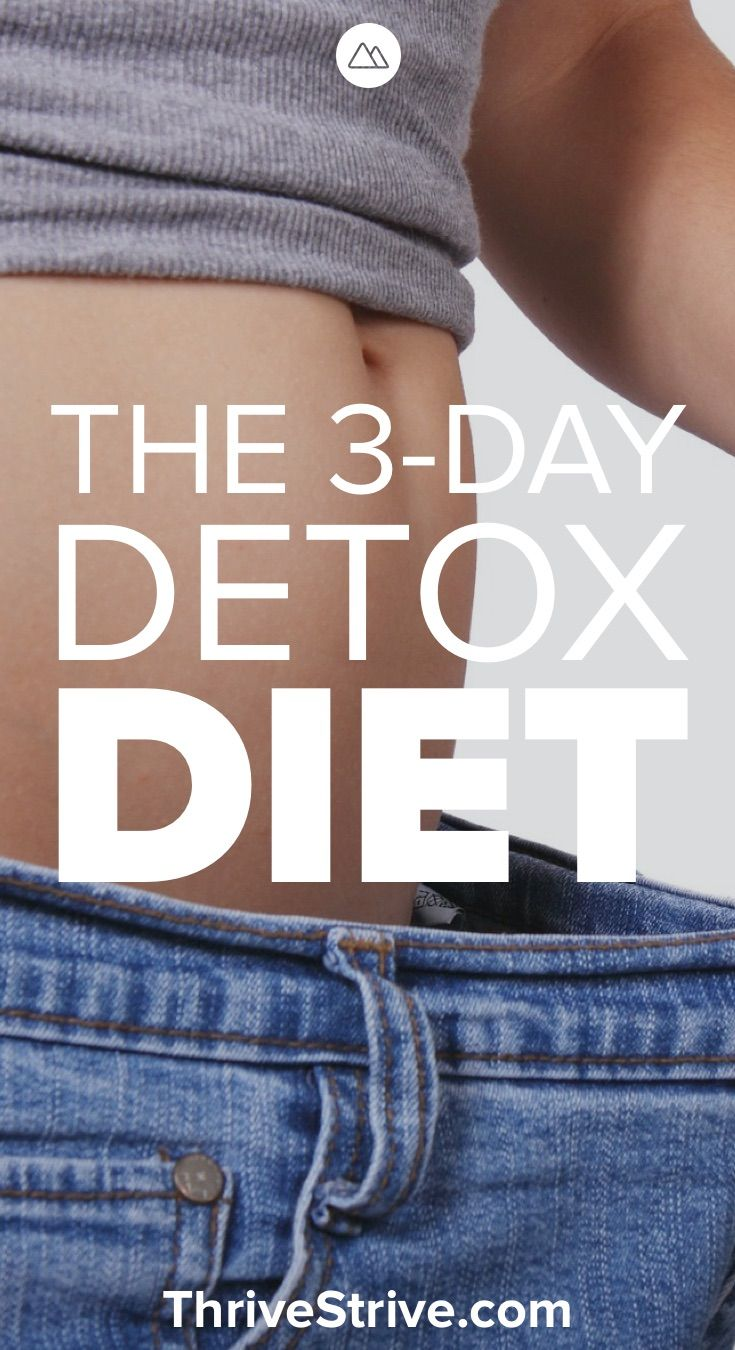 3 Day Detox Diet Plan | Sugar & Carb Detox Meal Plan for Weight Loss