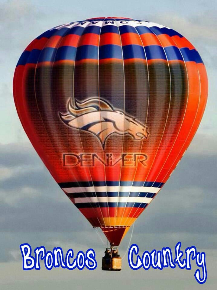 Broncos Country!Denver Broncos Db4L, Balloons Fiestas, Broncos Baby, Awesome Balloons, Broncos And, Broncos Fans, Broncos Football, Hot Air Balloons, Broncos Country