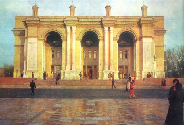 Оперный театр, Ташкент