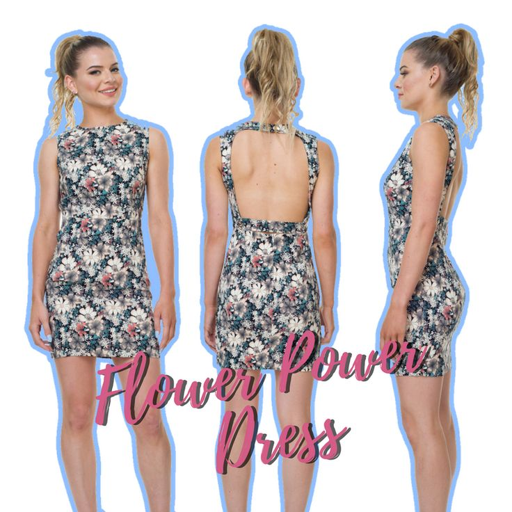 Long work day today? Make it a lil' less painful with our Flower Power Dress. 💐👍
