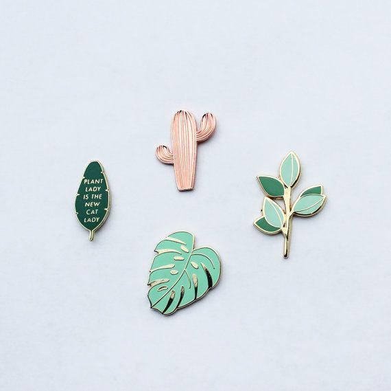 La planta Pin Pack Vol. 1  Pernos de la solapa por handmadesammade
