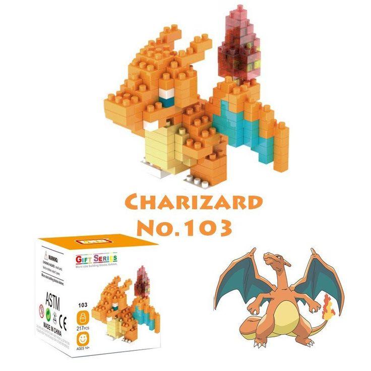 Pocket Pokemon Figures from Building Blocks