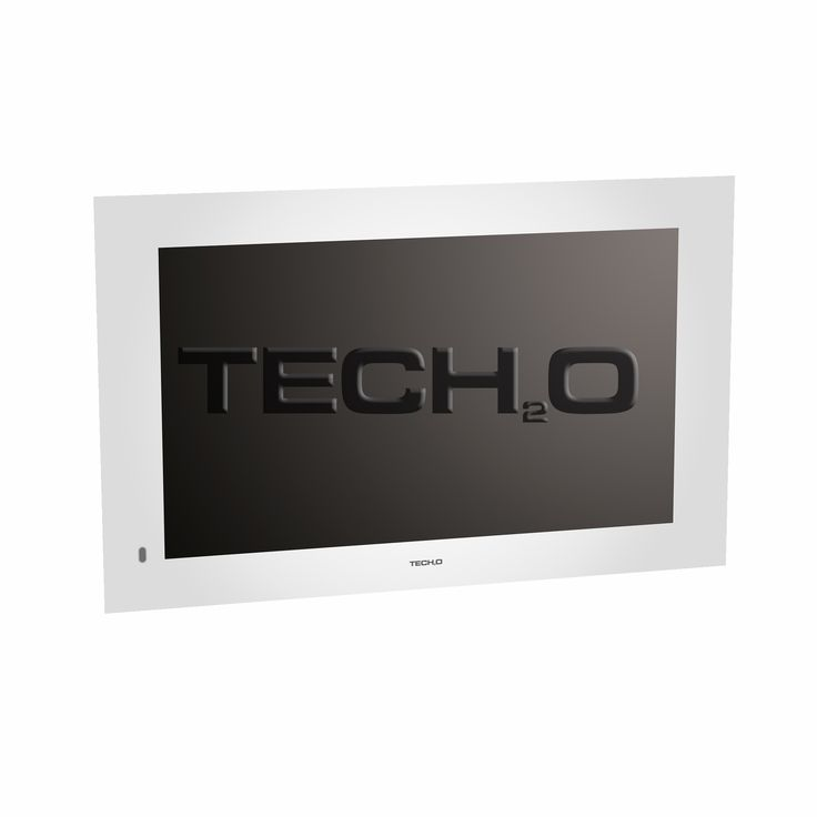 Our #bathroom #TV switched off | Tech2o