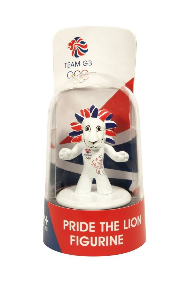 London 2012 Olympics Team GB Mascot Pride The Lion Figure GS62112 | eBay