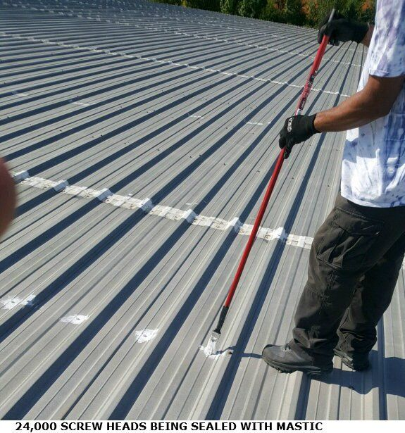 Metal Roof Coatings Systems For Commercial Roofs Metal Roof Coating Metal Roof Roof Coating