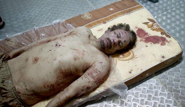 Mort de Kadhafi, la vérité d'une journaliste qui se trouvait sur place : regardez son témoignage!