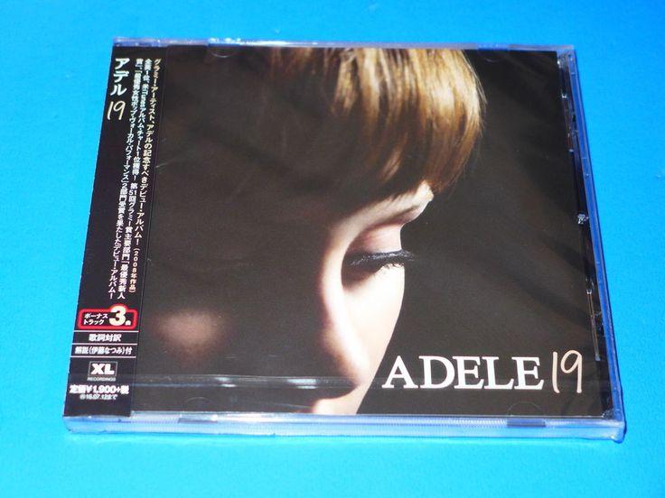 2016 JAPAN ADELE 19 CD / 3 BONUS TRACKS FOR JAPAN #SingerSongwriter