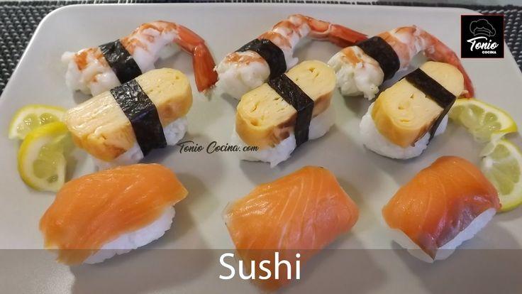 Curso de Sushi | Lección 3 | los Sushi o Nigiri Sushi | #TonioCocina 238