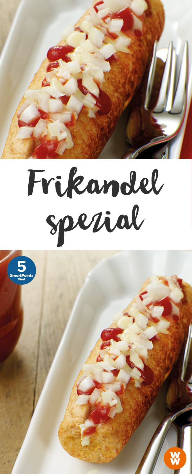 Frikandel spezial | 4 Portionen, 5 SmartPoints/Portion, Weight Watchers, in 45 min. fertig