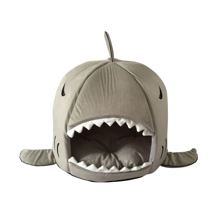 Shark Shape Dog Bed Soft Warm Pets Dog Cat Puppy Kennel High Quality Canvas Chew Resistant Lovely Bed for Dogs