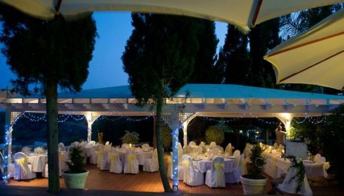 Grecian Park Hotel Wedding Reception
