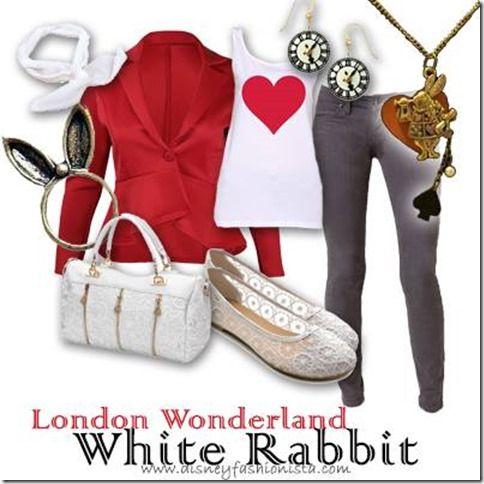 Disney Bounding With The Disney Fashionista- The Wonderful White Rabbit