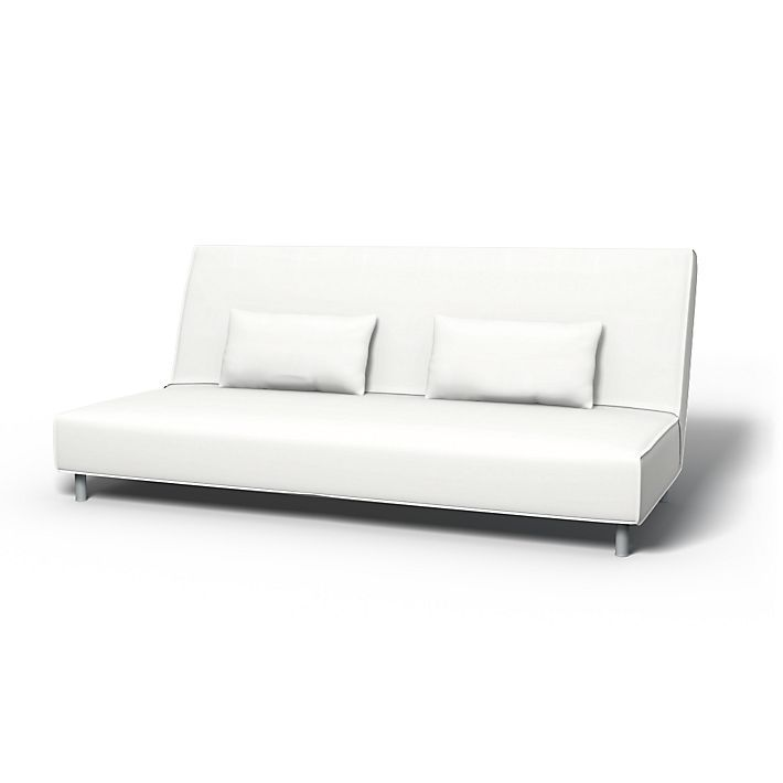 Beddinge, Housses de canapé, Convertible, Regular Fit utiliser le tissu Panama Cotton Absolute White