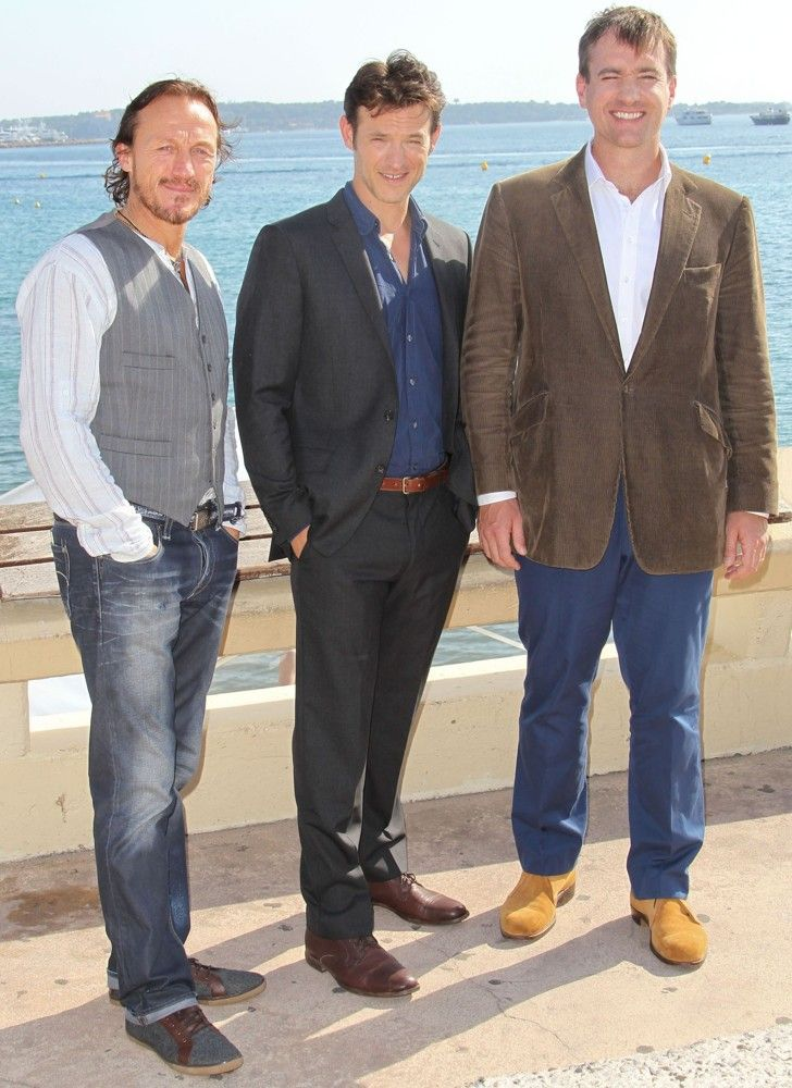 Jerome Flynn, Adam Rothenberg, Matthew Macfadyen    MIPCOM 2012 - Ripper Street - Photocall  Photo credit: / WENN