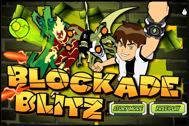 Play #Blockade Blitz. Smash blocks and help Ben break out of Vilgax's lair in Blockade Blitz.