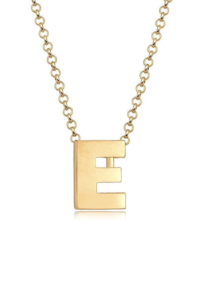 Elli Halskette »Buchstabe E Initialen Trend Minimal 925 Silber« Jetzt bestellen unter: https://mode.ladendirekt.de/damen/schmuck/halsketten/silberketten/?uid=6484dae6-ab96-5797-8049-1974323453ac&utm_source=pinterest&utm_medium=pin&utm_campaign=boards #schmuck #halsschmuck #halsketten #silberketten