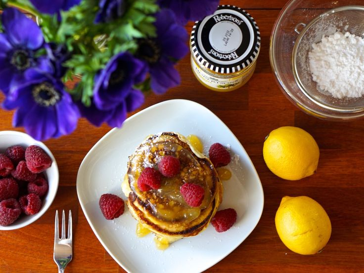 Lemon Ricotta Pancakes // Citron- og ricottapandekager