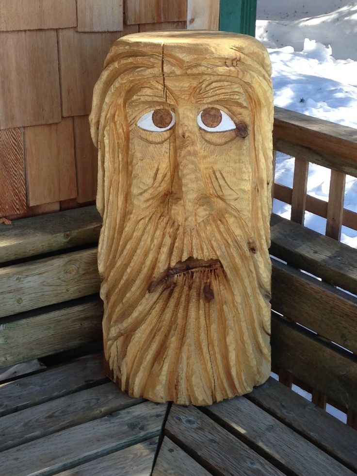 A chainsaw carving woodspirits pinterest