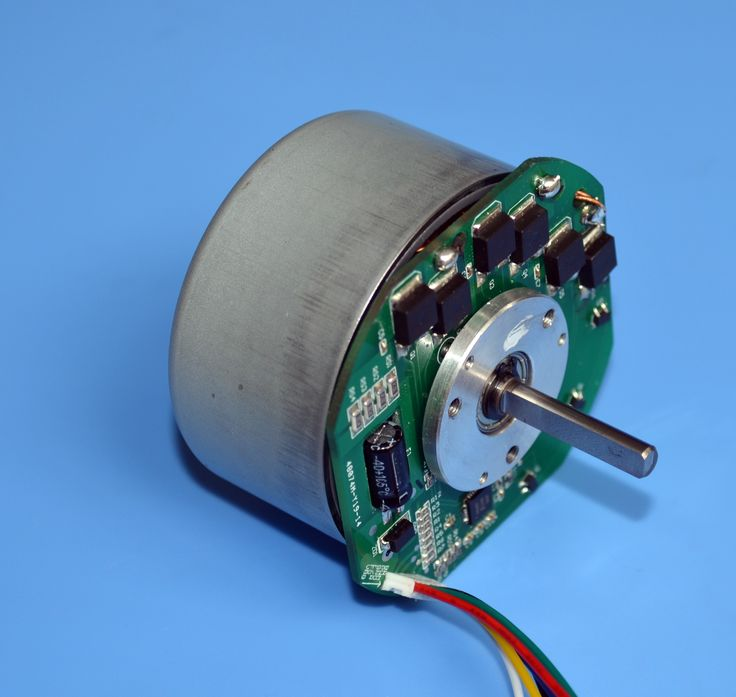 External Rotor BLDC Motor with Embedded Controller