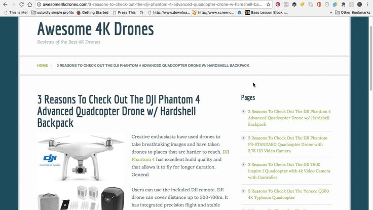 3 Reasons To Check Out The DJI Phantom 4 Advanced Quad Drone