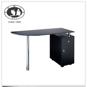 DTY batch manufacturing elegant style salon furniture manicure table with many drawers
