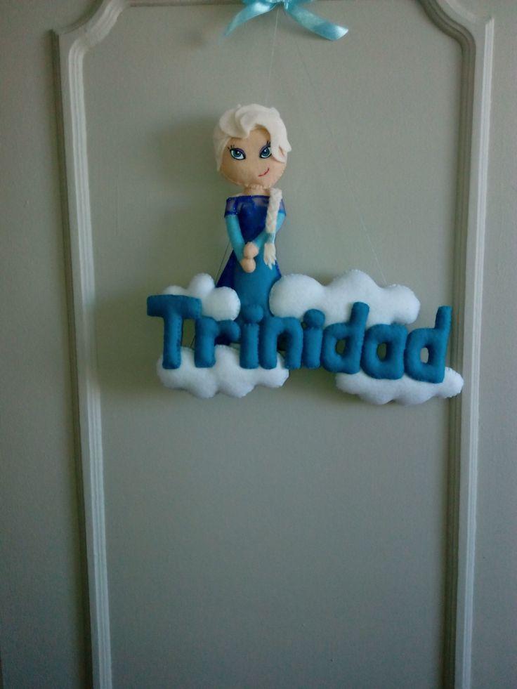 Elsa de Frozen Fieltro +56951491242